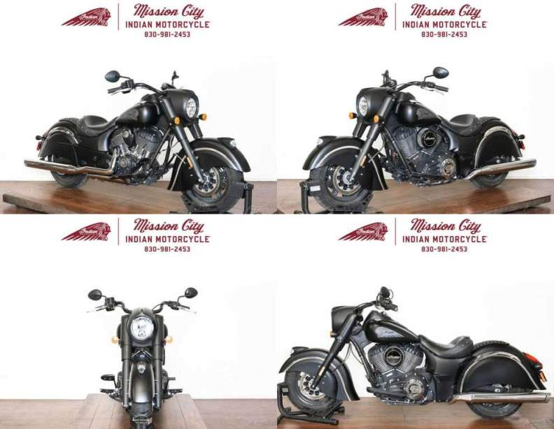 2017 Indian Chief Dark Horse Thunder Black Smoke Thunder Black Smoke used for sale