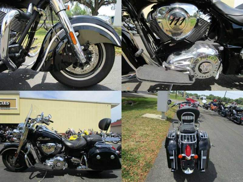2017 Indian Springfield Black used for sale