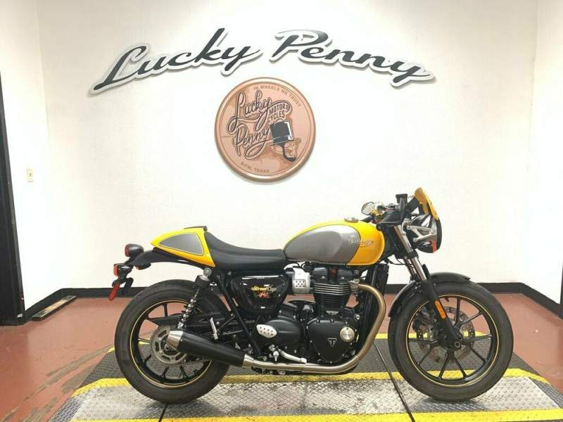 2017 Triumph Street Cup Silver used for sale craigslist