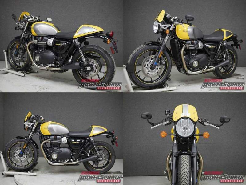 2017 Triumph Street Cup WABS RACING YELLOW/SILVER ICE used for sale craigslist