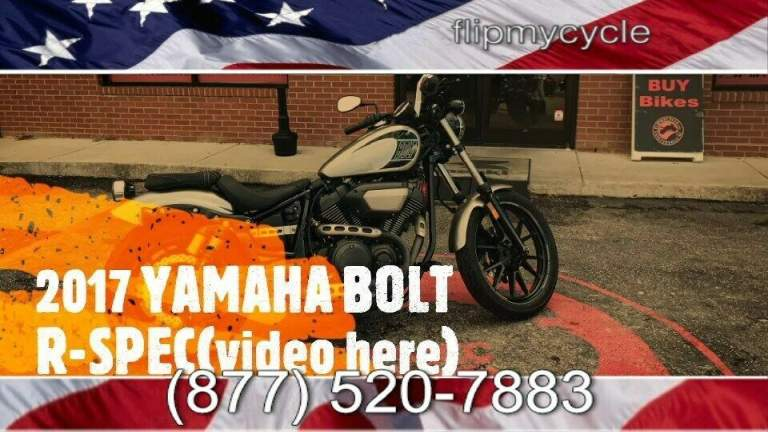 2017 Yamaha BOLT R-SPEC -- used for sale