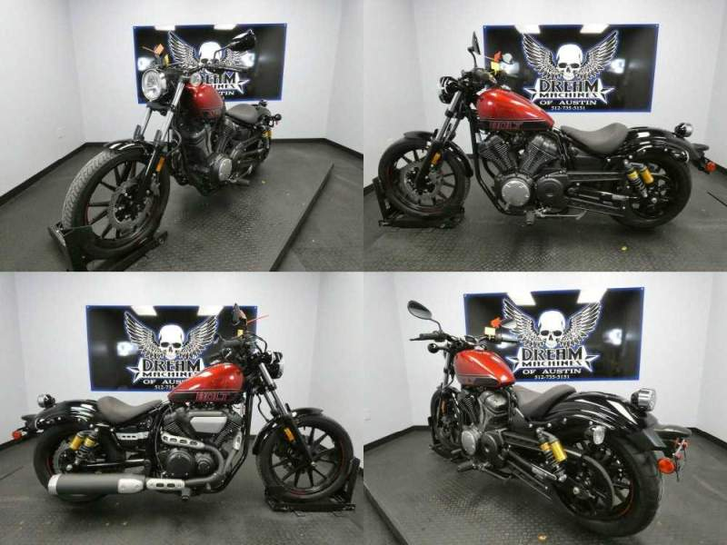 2017 Yamaha Bolt R-Spec Red used for sale craigslist