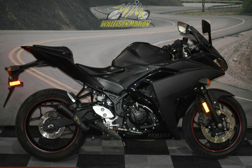 2017 Yamaha YZF-R3 Black used for sale