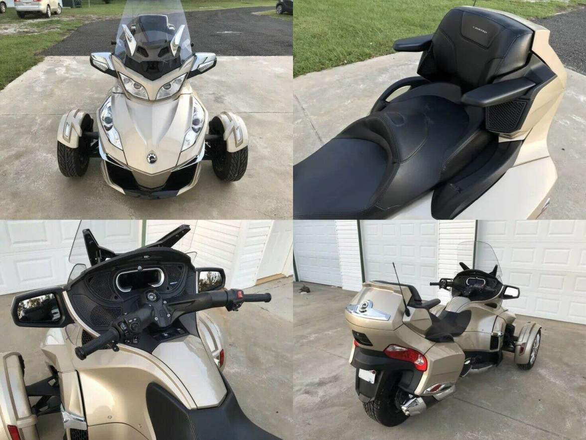 2018 Can-Am Spyder RT Brown used for sale craigslist