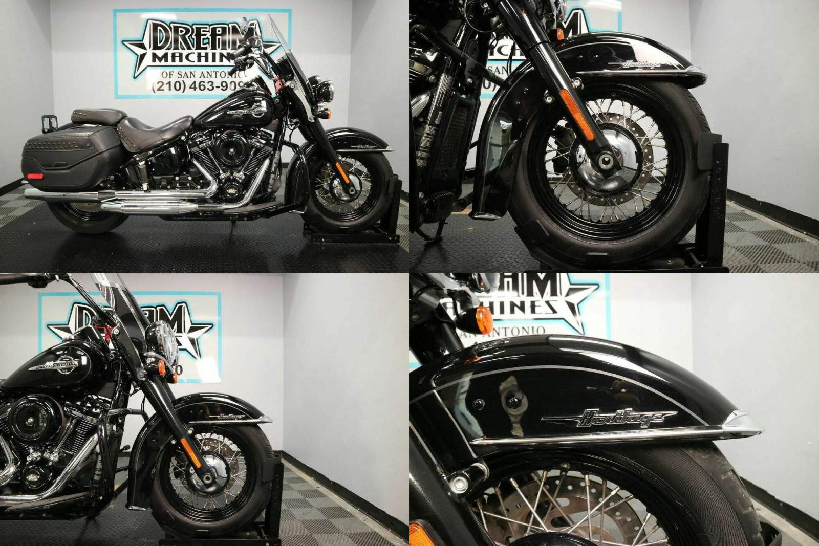 2018 Harley-Davidson FLHC - Softail Heritage Classic Black used for sale craigslist