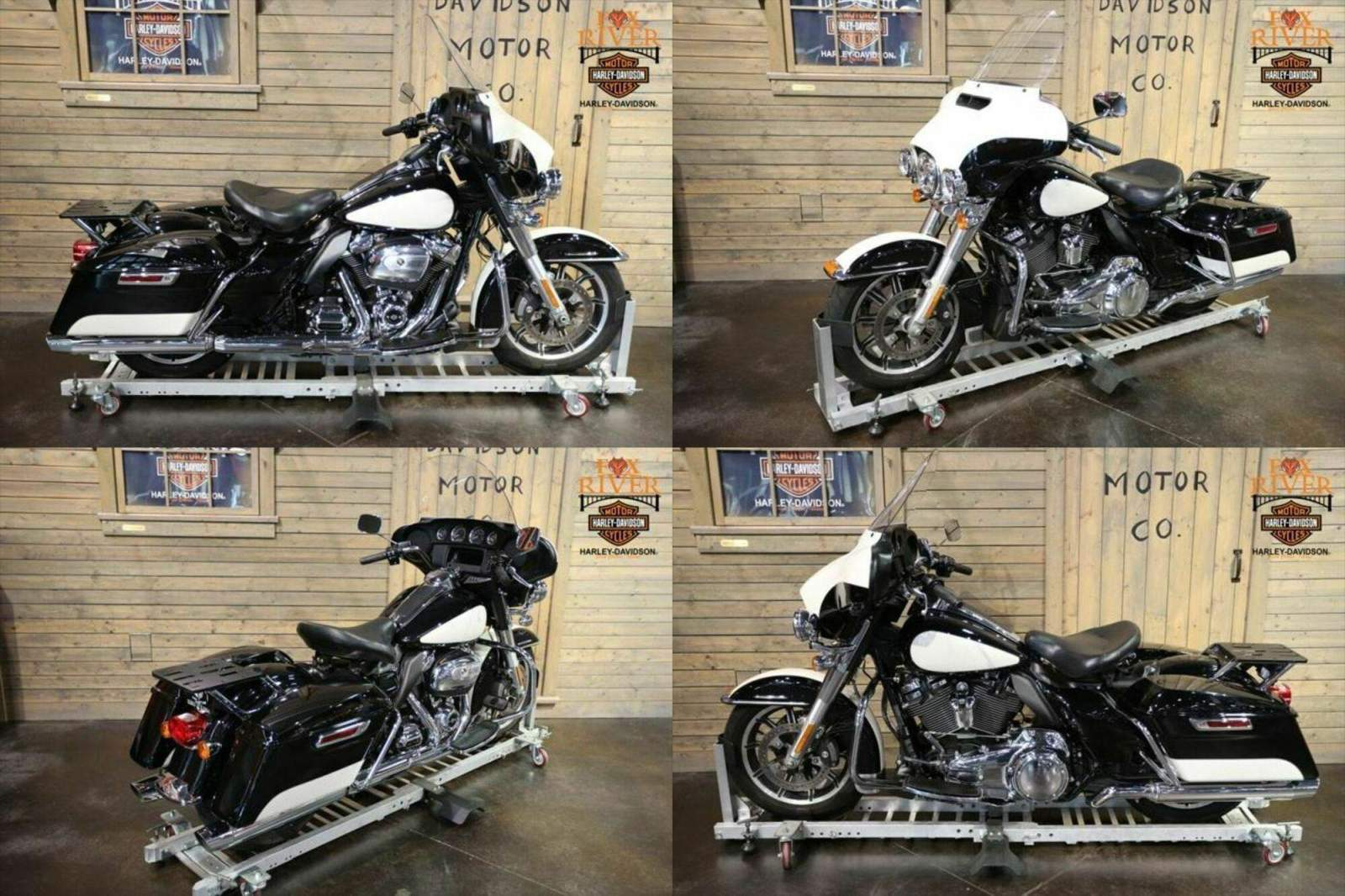 2018 Harley-Davidson FLHTP - Electra Glide® Fire/Rescue BLK/WHT used for sale craigslist