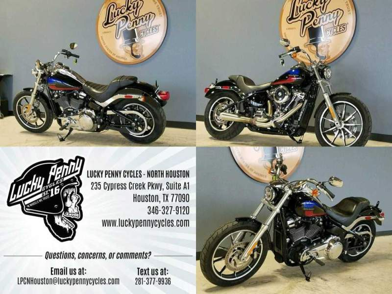 2018 Harley-Davidson LOW RIDER FXLR Black used for sale