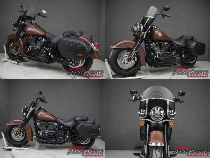 2018 Harley-Davidson Softail FLHCS HERITAGE CLASSIC WABS RED IRON DENIM used for sale