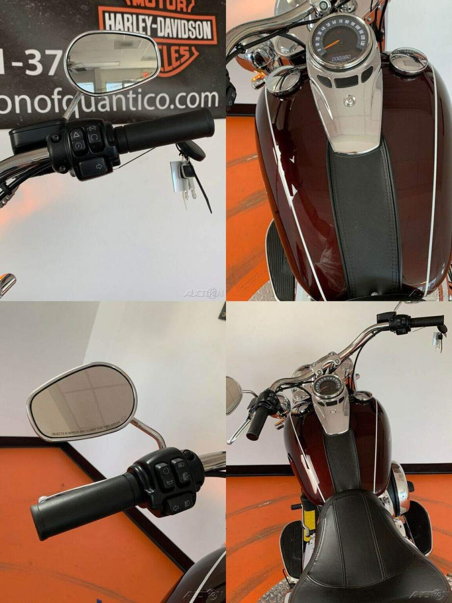 2018 Harley-Davidson Softail Deluxe 107 Twisted Cherry used for sale craigslist