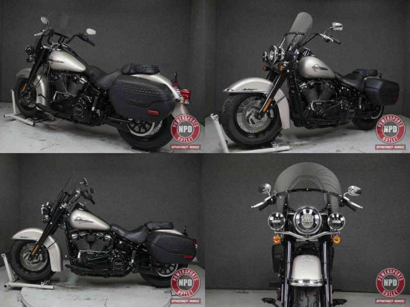 2018 Harley-Davidson Softail FLHCS HERITAGE CLASSIC WABS SILVER FORTUNE used for sale craigslist
