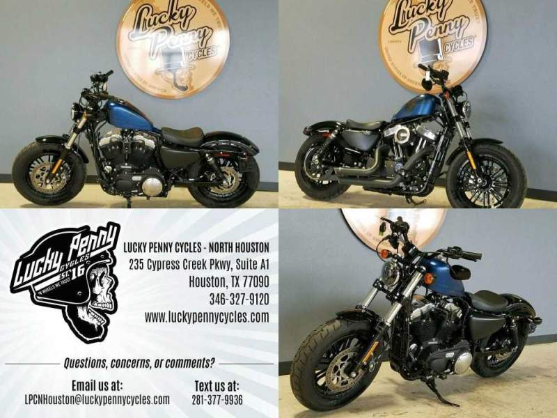 2018 Harley-Davidson Sportster Forty-Eight XL1200X Blue used for sale craigslist