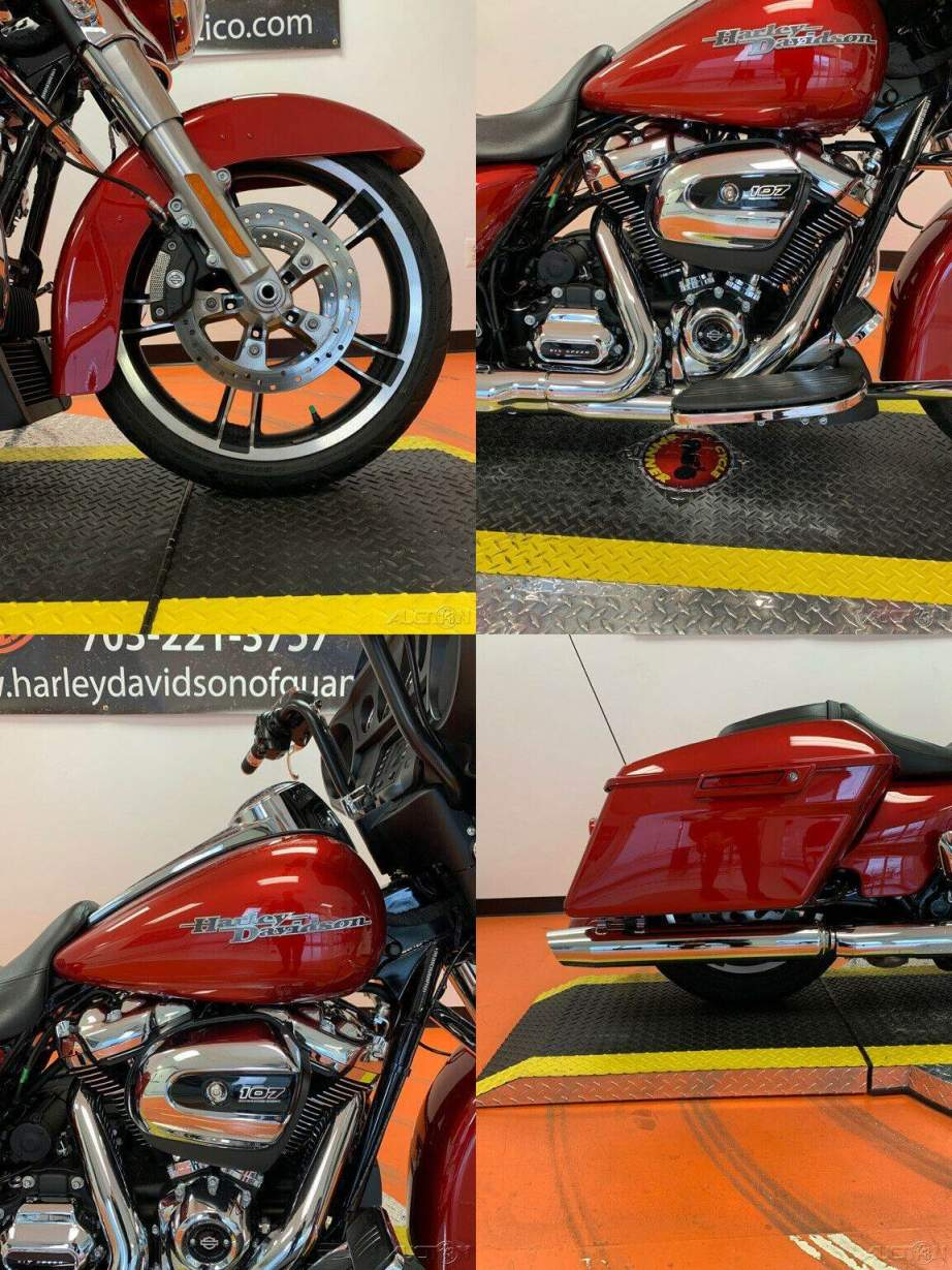 2018 Harley-Davidson Touring Wicked Red used for sale