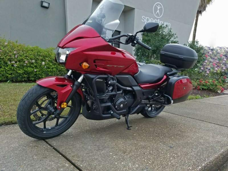 2018 Honda CTX 700 DCT Red used for sale craigslist