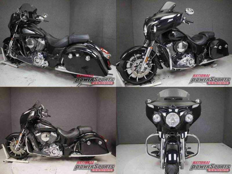 2018 Indian CHIEFTAIN LIMITED W/ABS THUNDER BLACK PEARL used for sale craigslist