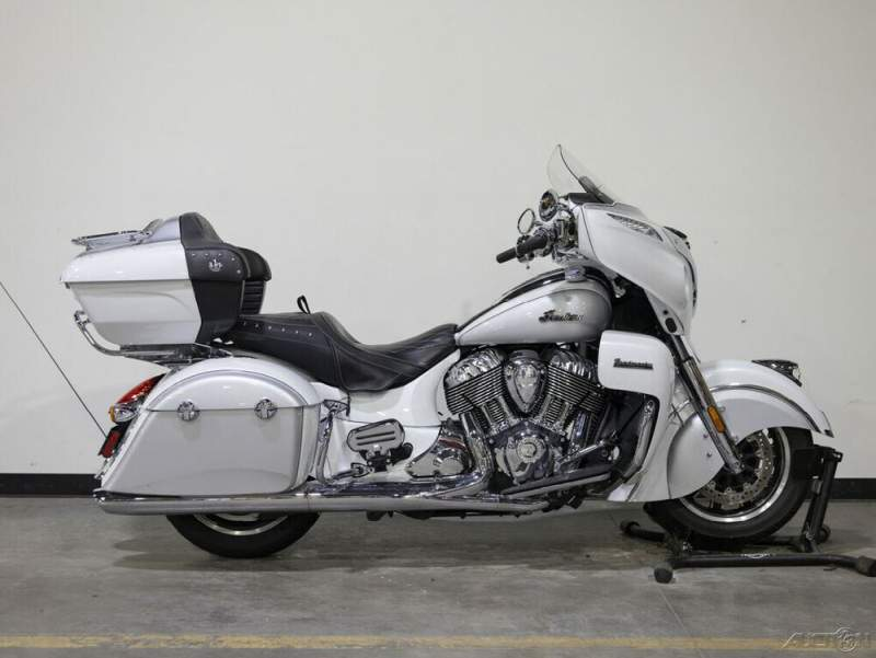 2018 Indian Roadmaster WABS PEARL WHITE/STAR SILVER used for sale