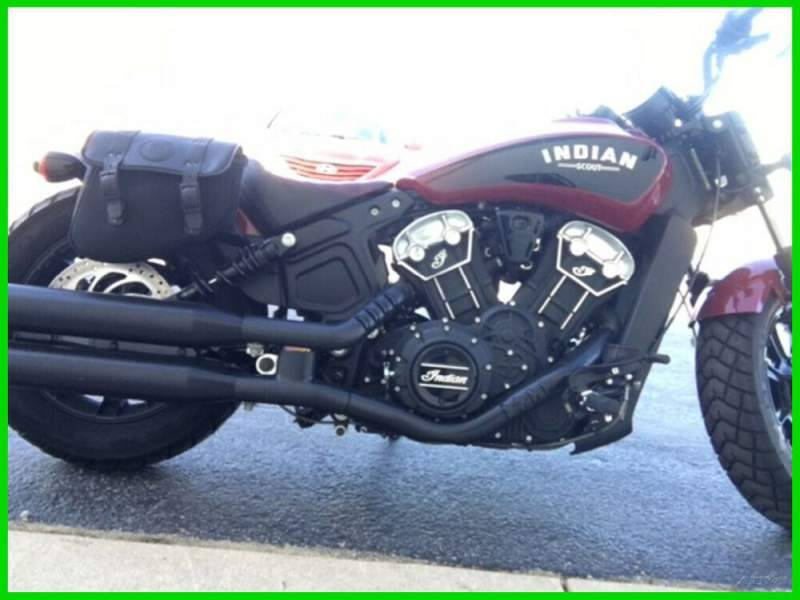 2018 Indian Scout Bobber Indian Motorcycle Red  used for sale craigslist