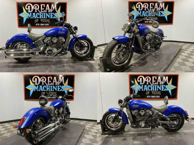 2018 Indian Scout Icon ABS Blue used for sale craigslist