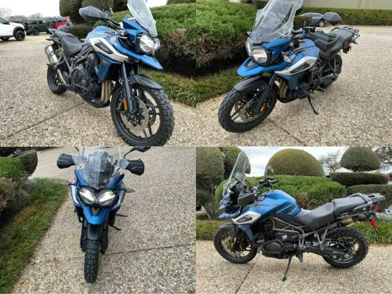 2018 Triumph Tiger 1200 XRx Low Blue used for sale craigslist