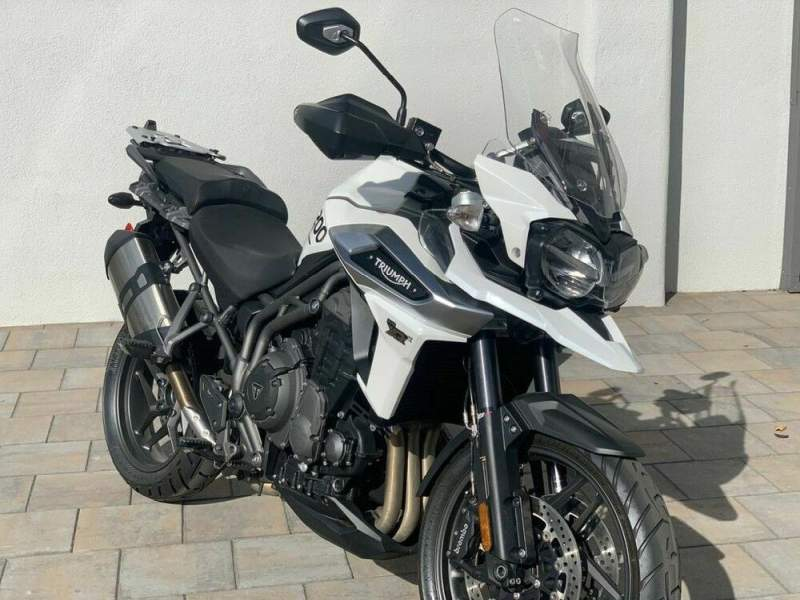 2018 Triumph Tiger 1200 XRx Low Crystal White -- used for sale craigslist