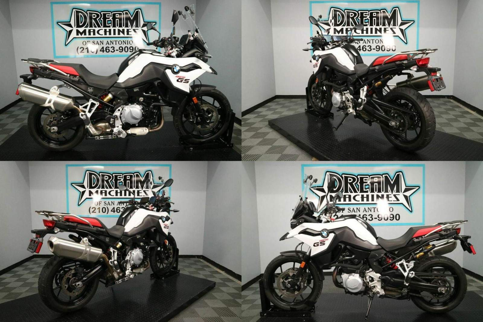 2019 BMW F 750 GS Light White Premium White used for sale craigslist
