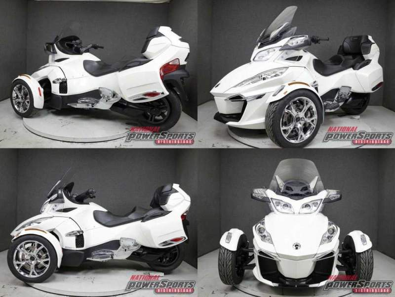 2019 Can-Am SPYDER RT SE6 LIMITED TRIKE White used for sale craigslist
