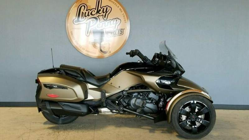 2019 Can-Am Spyder F3 Limited BRONZE COPPER used for sale craigslist