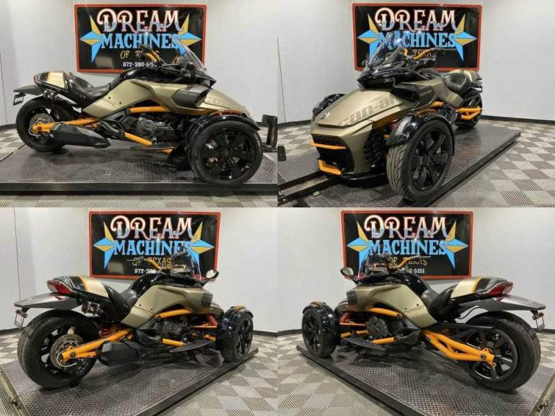 2019 Can-Am Spyder F3-S Special Series SE6 Black used for sale