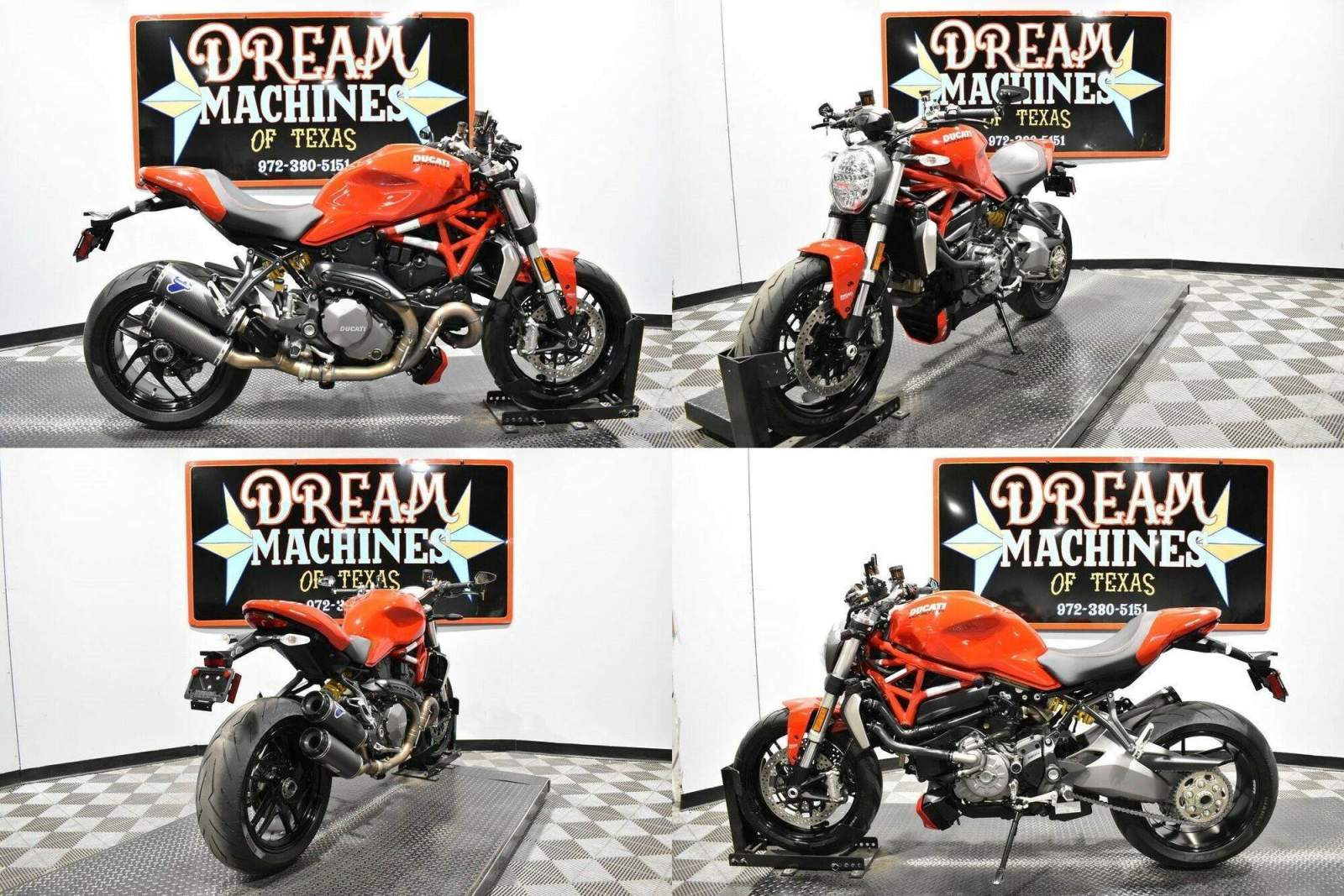 2019 Ducati Monster 1200 Red used for sale