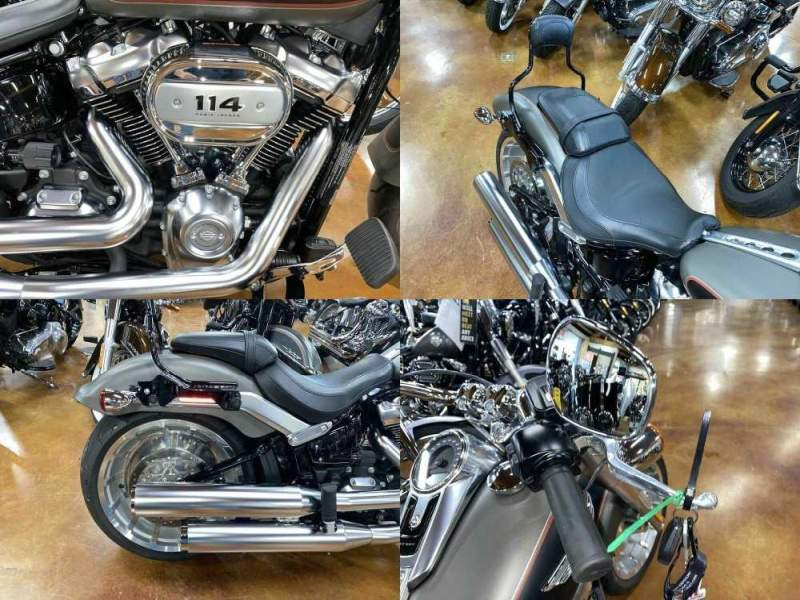 2019 Harley-Davidson FLFBS - Softail® Fat Boy® 114 Gray used for sale