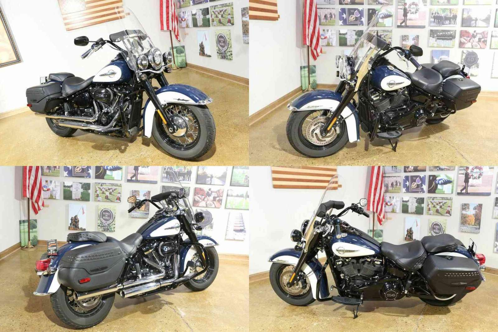 2019 Harley-Davidson FLHCS - Heritage Classic 114 Blue used for sale