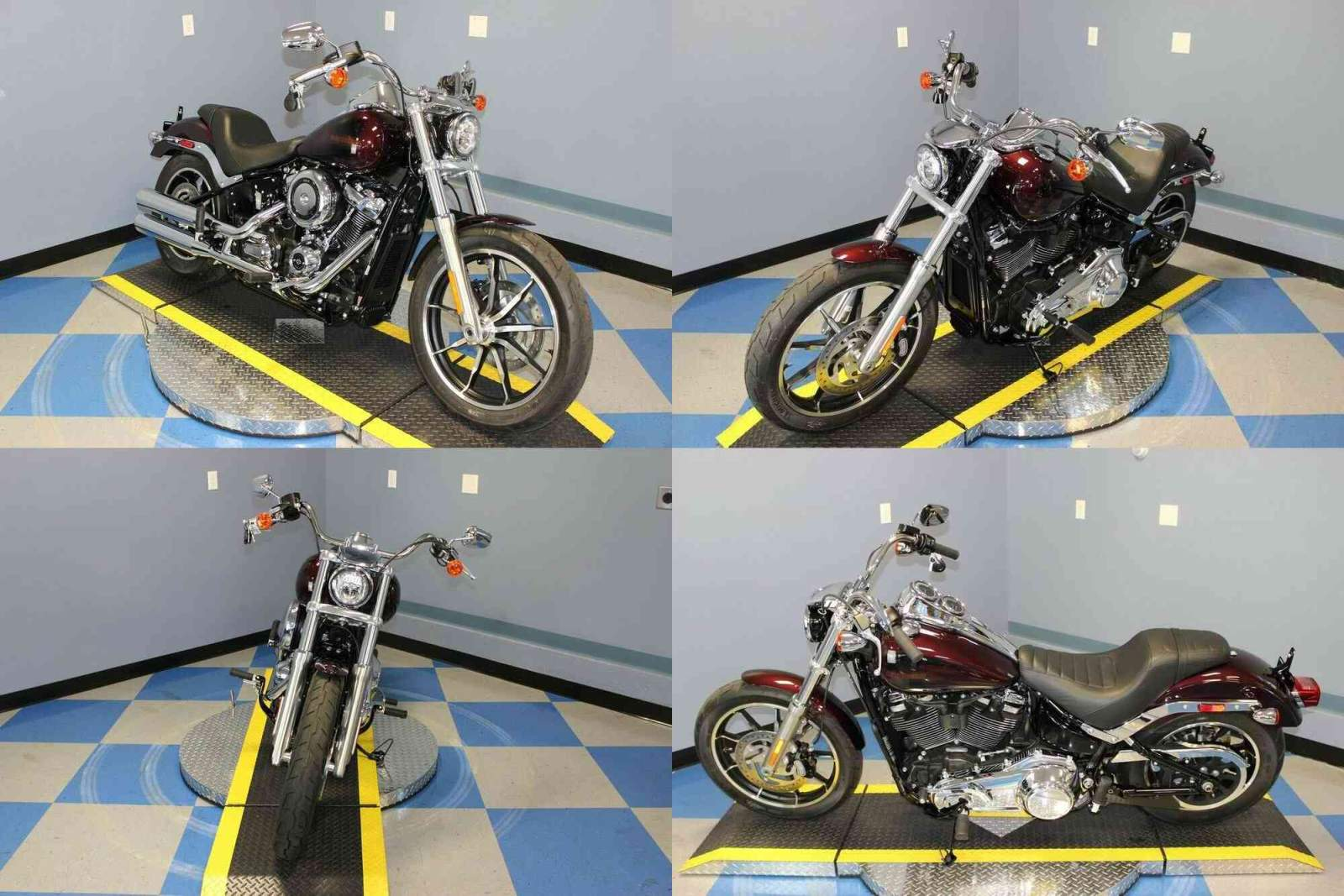 2019 Harley-Davidson FXLR Low Rider Maroon used for sale