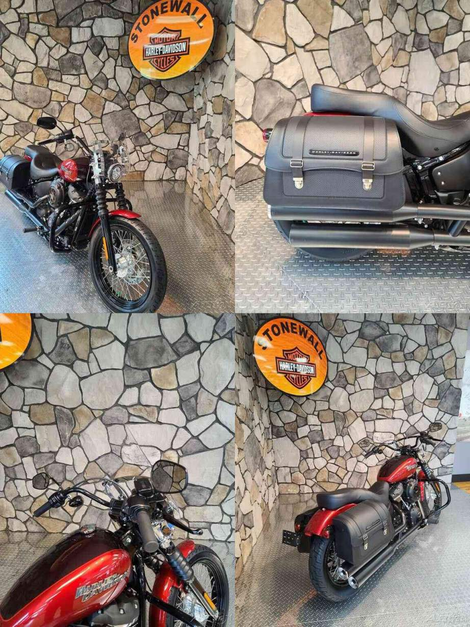 2019 Harley-Davidson Softail Street Bob Wicked Red / Twisted Cherry used for sale craigslist