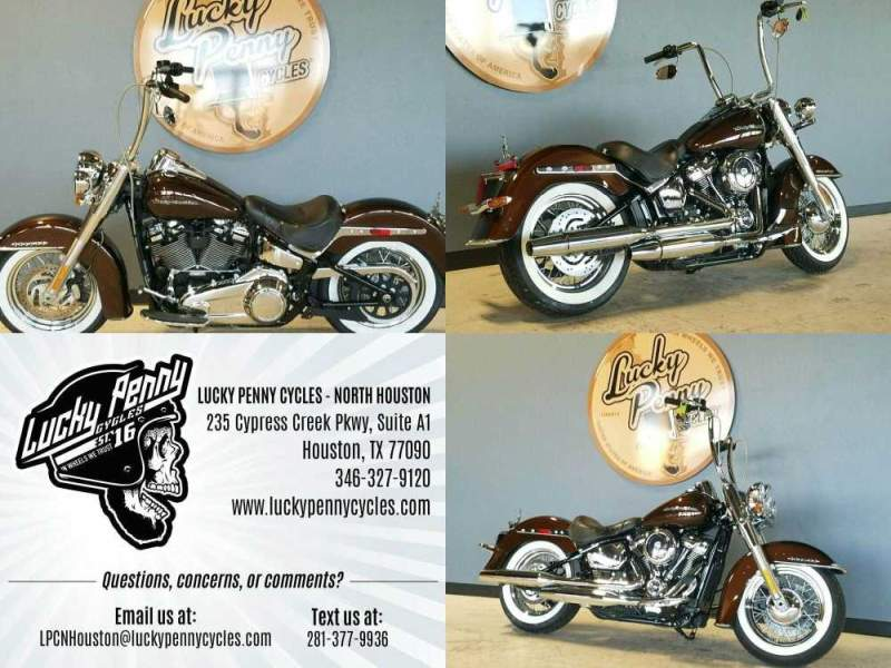 2019 Harley-Davidson Softail Deluxe Brown used for sale