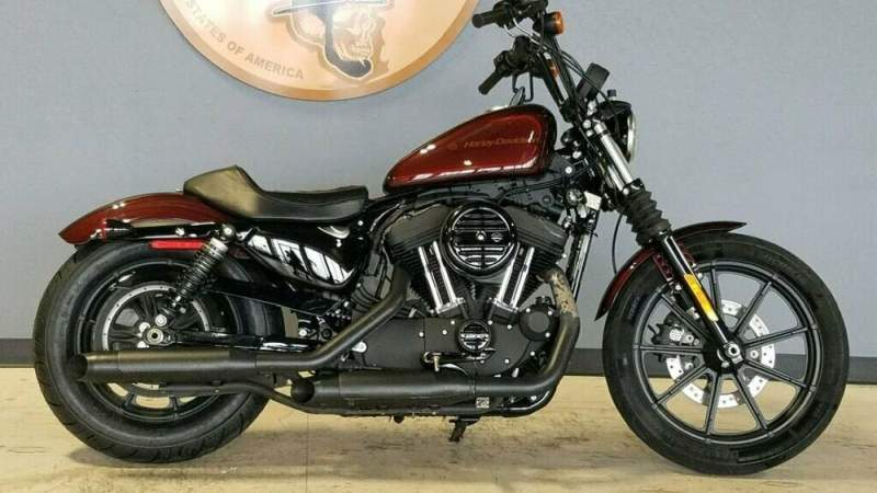 2019 Harley-Davidson Sportster Iron 1200 XL1200N Red used for sale