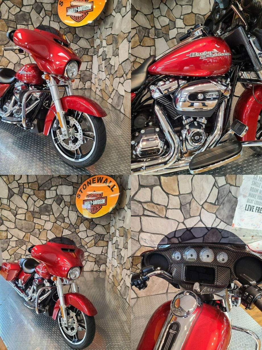 2019 Harley-Davidson Touring Street Glide Wicked Red used for sale craigslist