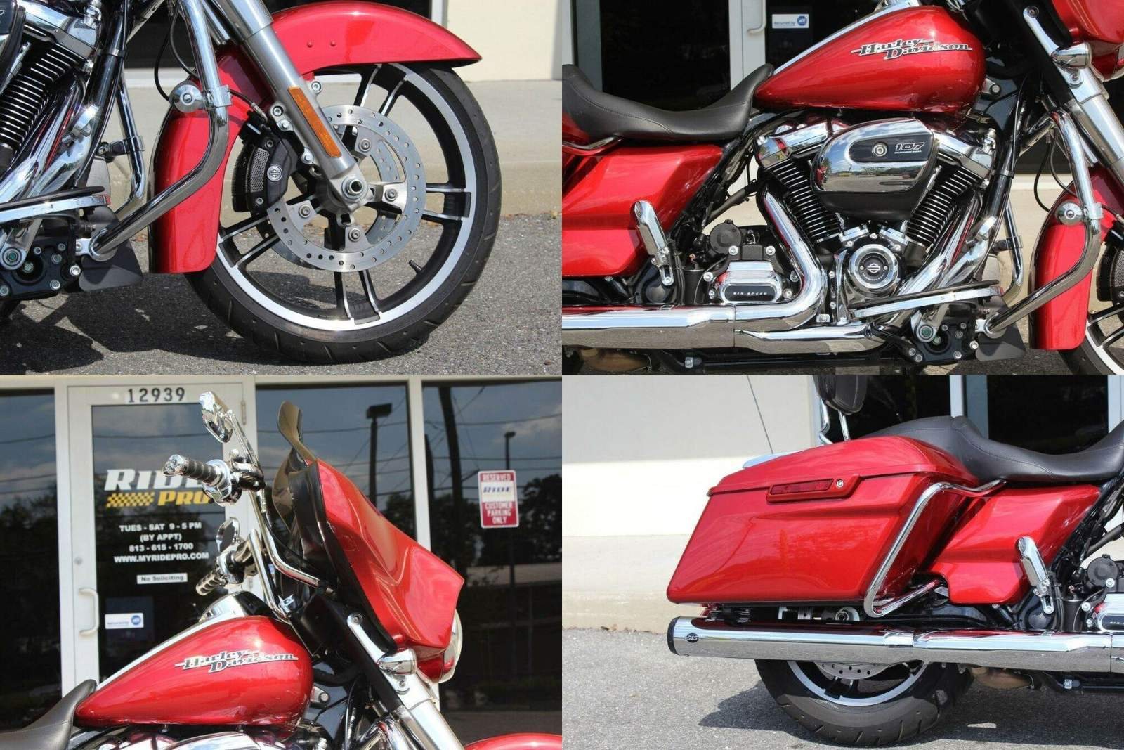 2019 Harley-Davidson Touring Street Glide™ Wicked Red used for sale craigslist