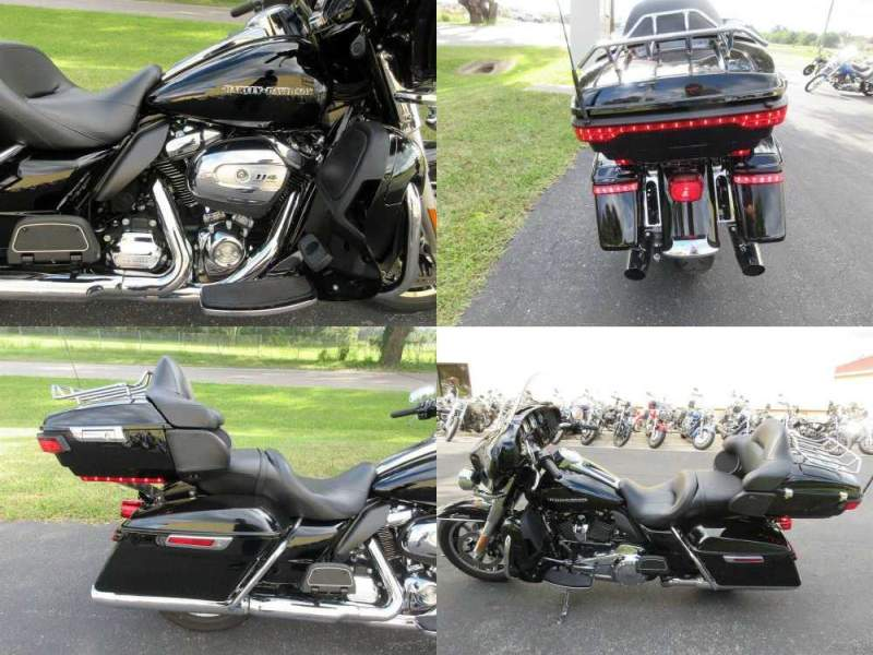 2019 Harley-Davidson Touring Electra Glide® Ultra Limited Black used for sale