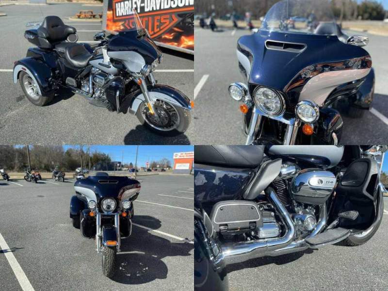 2019 Harley-Davidson Trike Tri Glide Ultra Midnight Blue / Barracuda Silver used for sale