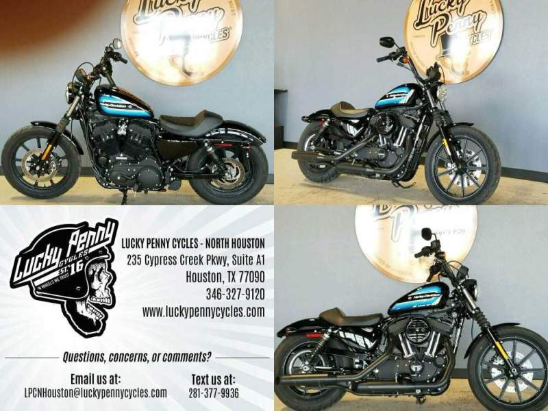 2019 Harley-Davidson XL1200NS Black used for sale