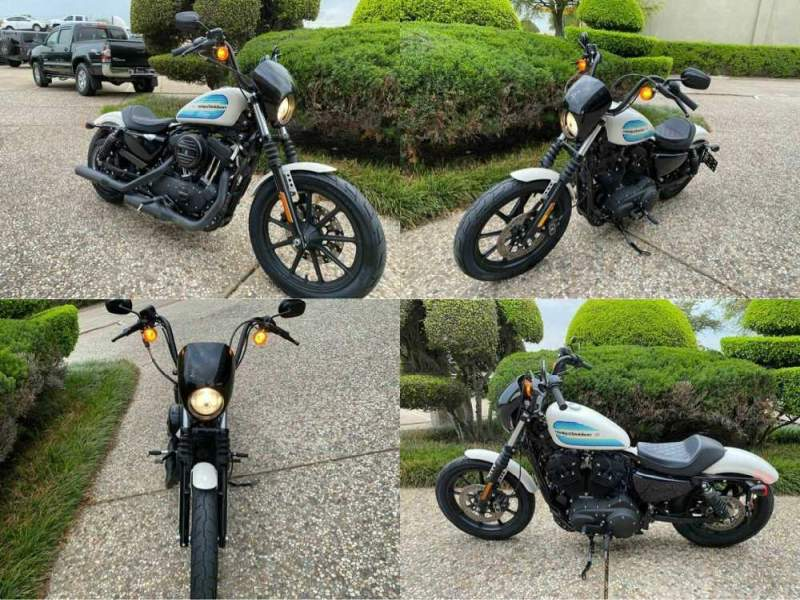 2019 Harley-Davidson XL1200NS Sportster Iron 1200 White used for sale craigslist