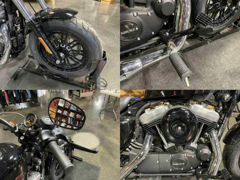 2019 Harley-Davidson XL 1200X - Sportster® Forty-Eight® Black used for sale
