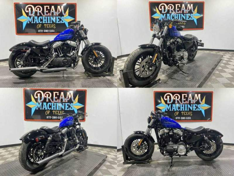 2019 Harley-Davidson XL 1200X - Sportster Forty-Eight Black used for sale