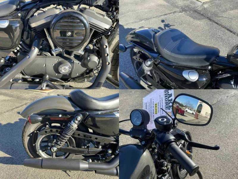 2019 Harley-Davidson XL 883N - Sportster® Iron 883™ Gray used for sale craigslist
