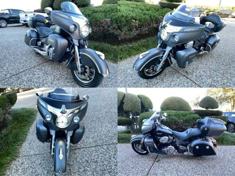 2019 Indian Roadmaster Icon Gray used for sale craigslist