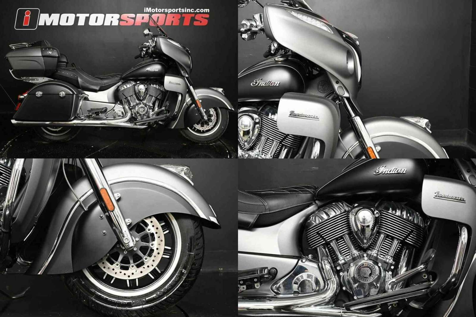 2019 Indian Roadmaster Steel Gray Smoke / Thunder Black Smoke Black used for sale