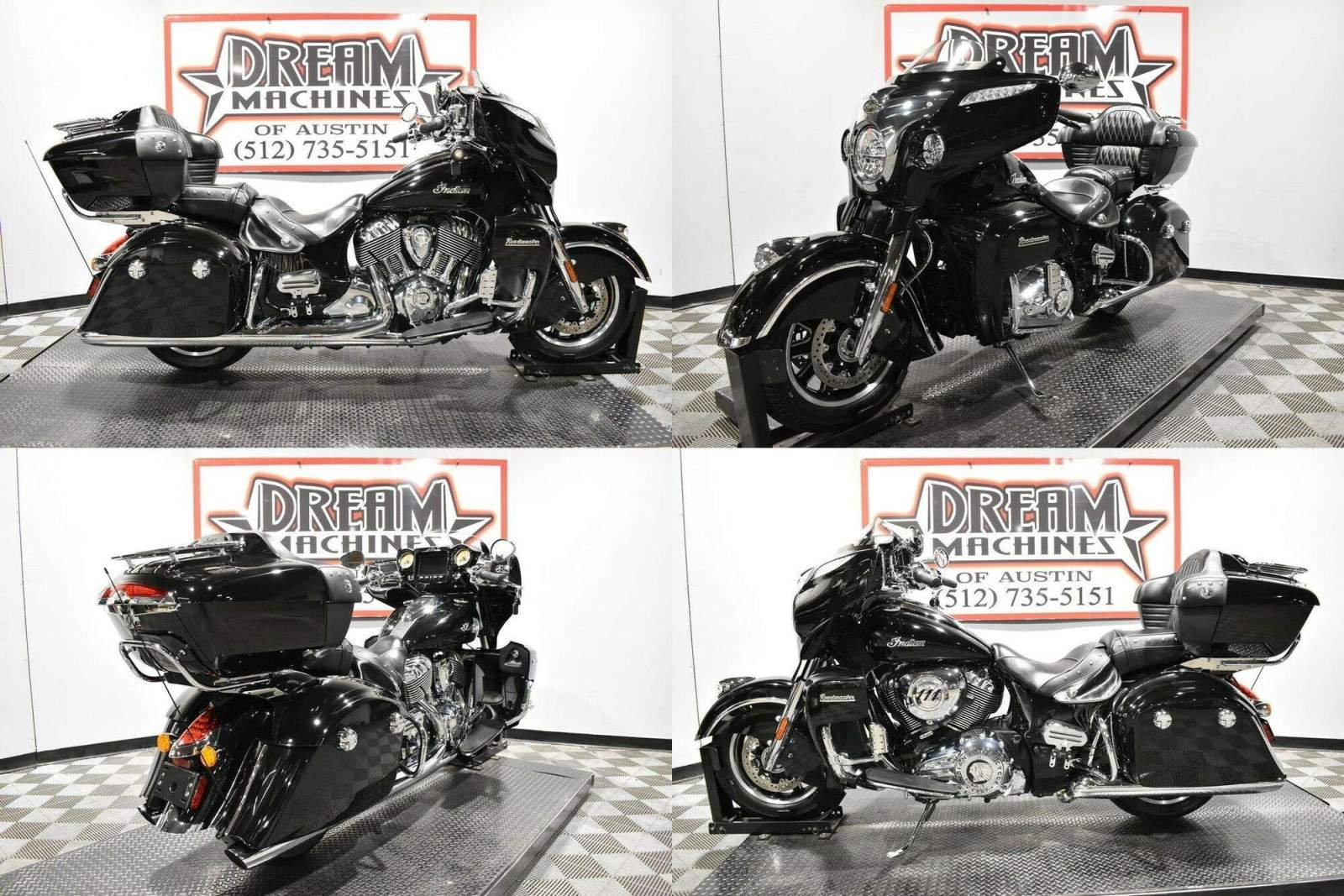 2019 Indian Roadmaster Thunder Black Black used for sale