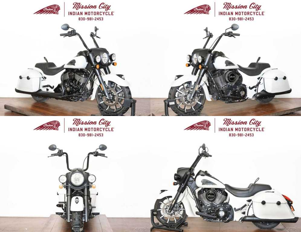 2019 Indian Springfield Dark Horse White Smoke White Smoke used for sale craigslist