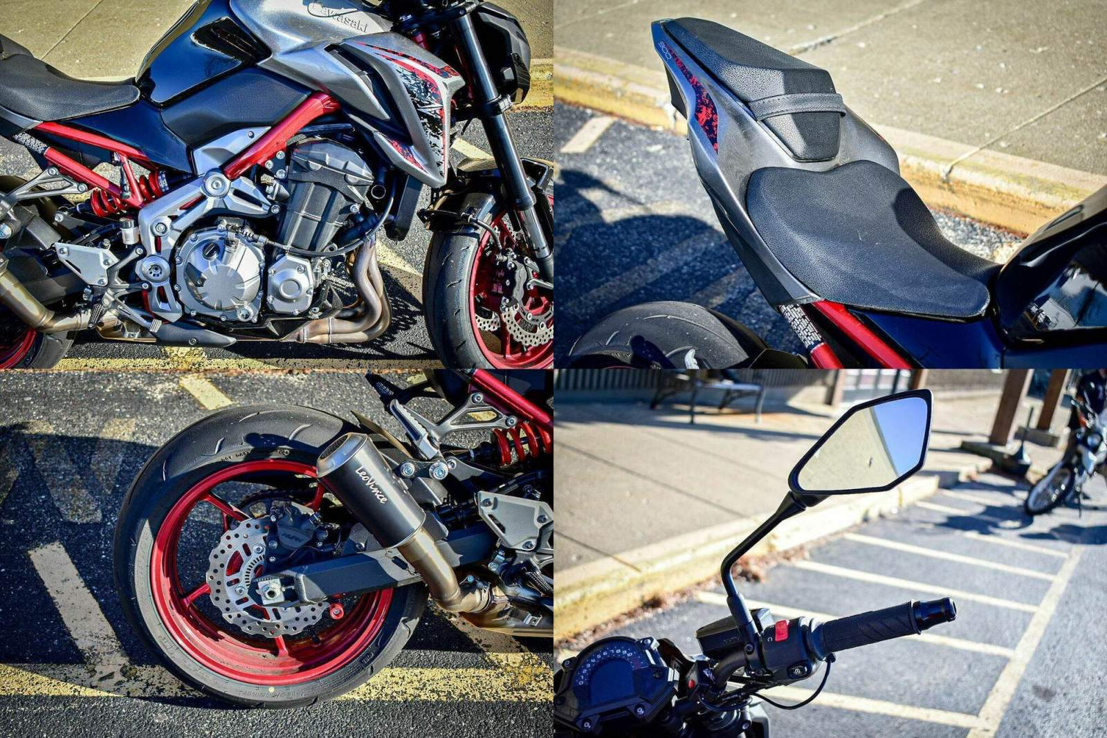 2019 Kawasaki Z900 ABS -- used for sale
