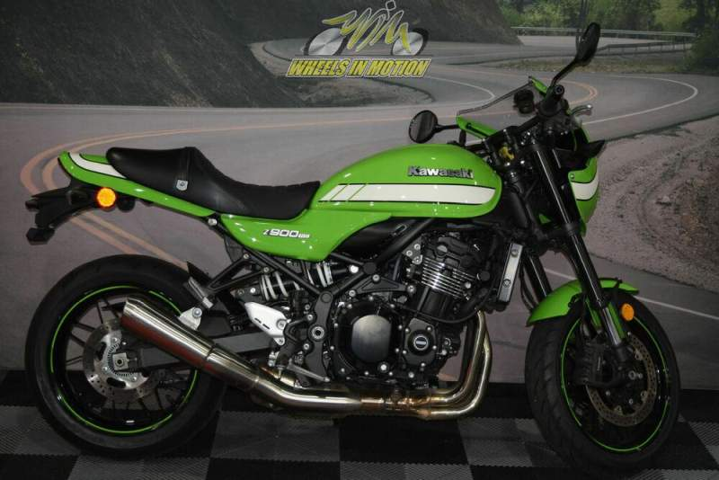 2019 Kawasaki Z900RS Cafe Green used for sale