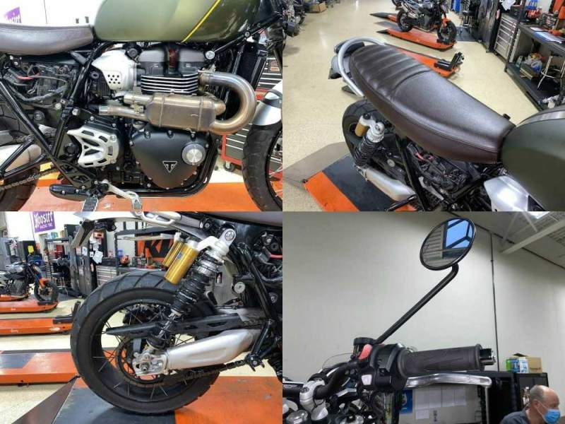 2019 Triumph Scrambler 1200 XC Brooklands Green Green used for sale craigslist